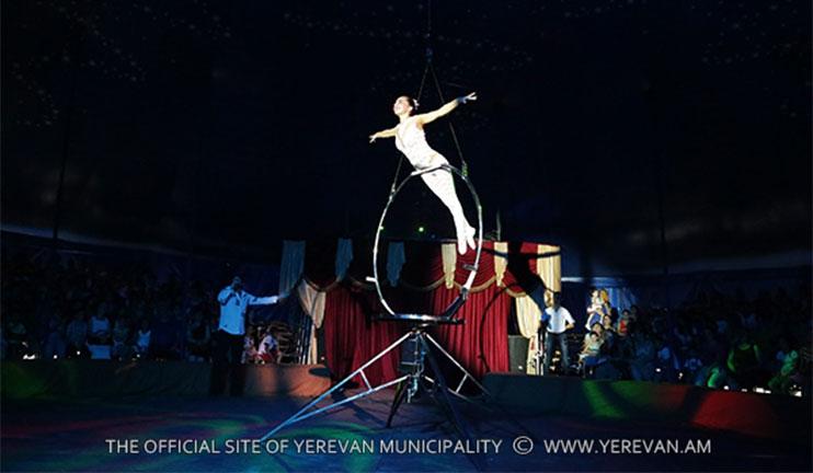 «Իմպերիալ» շապիտո կրկեսի ամանորյա ներկայացումները կմեկնարկեն դեկտեմբերի 27-ին