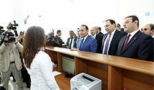 "The PM Visits the Cadastre ""Central"" Office"