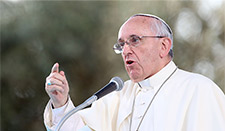 The Pope has condemned the Islamic State activities