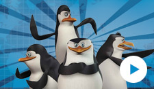 "Cartoon ""The Penguins of Madagascar"""