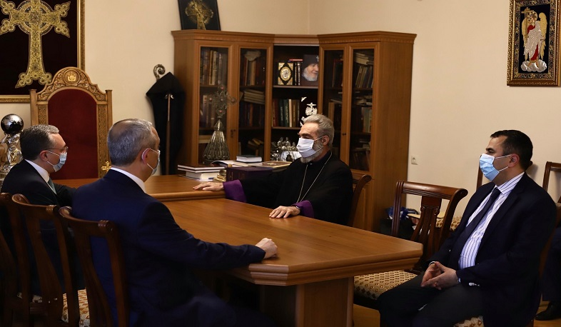 El arzobispo de Nagorno Karabaj
