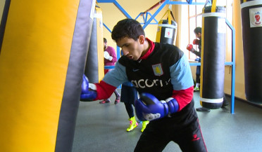 Young boxers prepare for tournament