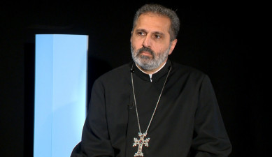 Agenda: Interview: Father Mesrop Aramyan
