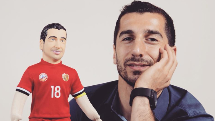 Henrikh Mkhitaryan celebrates 30th birthday on January 21