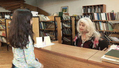 Svetlana Shirinyan: Art of the Librarian