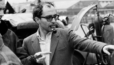French Film Director and Screenwriter Jean-Luc Godard