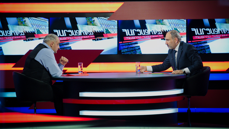 Interview with Petros Ghazaryan: Nikol Pashinyan