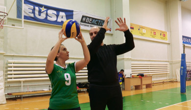 Sport time: volleyball