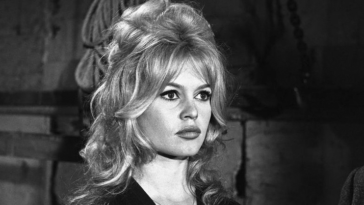 French Actor and Model Brigitte Bardot