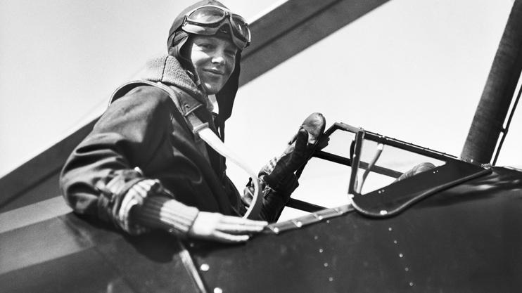 Ամերիկացի հայտնի գրող և օդաչու Ամելիա Էրհարթ - Հանրային հեռուստաընկերություն