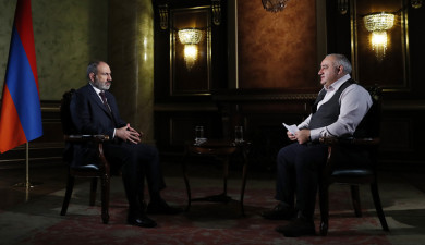 Interview with Nikol Pashinyan