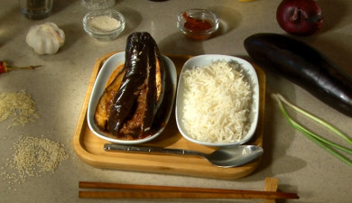 Let's Cook Together: Eggplant in Korean Style
