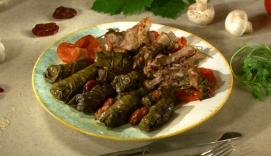 Let's Cook Together: Pork and Mushroom Dolma